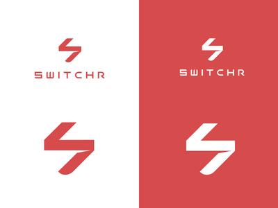 SWITCHR logotype - Solar power by the people solar power brand mark invest fintech branding logotyp logo