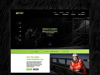 Conveyor Belt Company - Web Concept