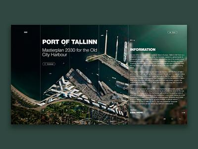 Concept website ux. ui home page landing page design website wed