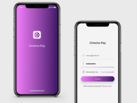 Concept app Cinema Pay