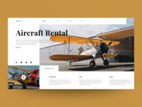 Concept website Europe Air
