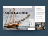 Concept website North Sailing