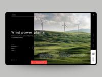 Concept website Westex.