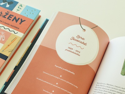 SuperŽeny / book book illustration indesign layout design