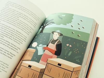 SuperŽENY / book book indesign layout photoshop illustration design