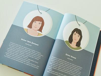 SuperŽENY / book photoshop book indesign layout design illustration