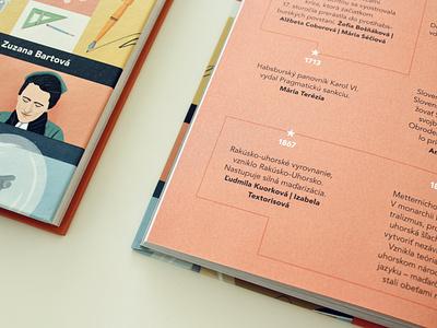 SuperŽENY / book infographic indesign book design