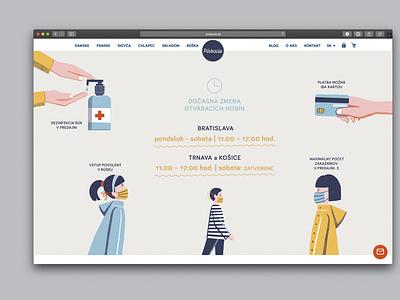 Corona measures slideshow corona graphicdesign design procreate indesign illustration layout