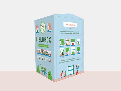 Bibliobox library typography graphicdesign bibliobox book illustration design