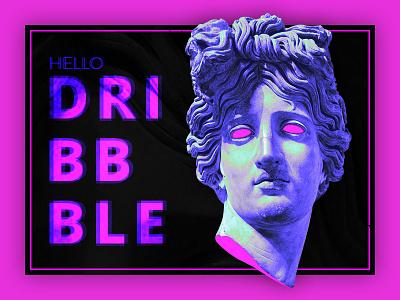 Hello Dribbble! ux ui design web firtshot dribbble debut