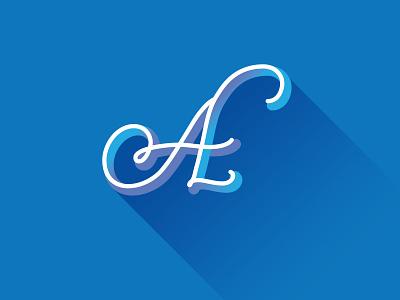 A alphabet a letters lettering