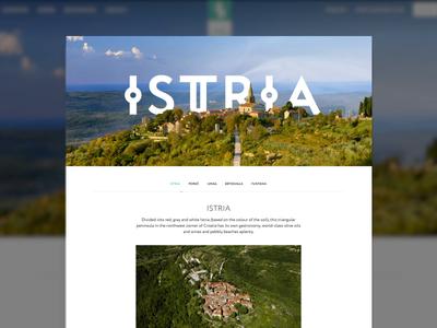 Istra Camping - Landing page