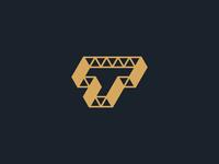 Backup zwallow monogram T steel logo