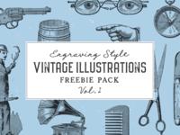 Free Vintage Illustrations Vol. 2