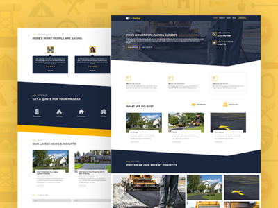Divi Paving Child Theme By Pee Aye Creative