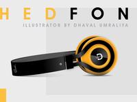 FREE ILLUSTRATION - Headphones
