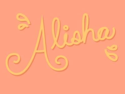 Alishatype