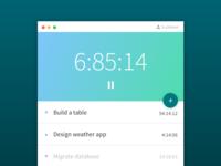 simple task timer app