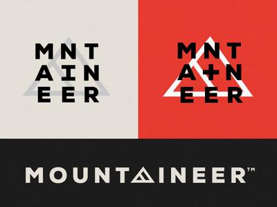 Mountaineer Logo Concept illustration branding logo