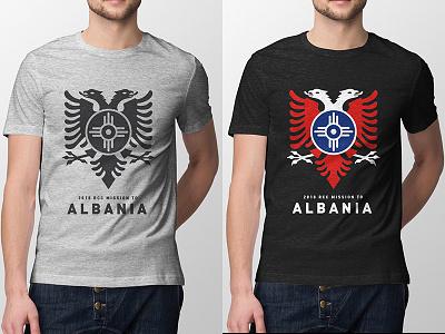 2018 RCC Wichita to Albania wichita illustrator vector t-shirt