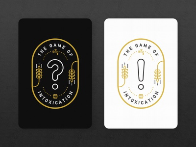 GOI Game Cards wheat board game logo illustration cards game