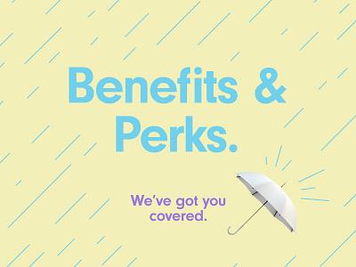 Benefits & Perks