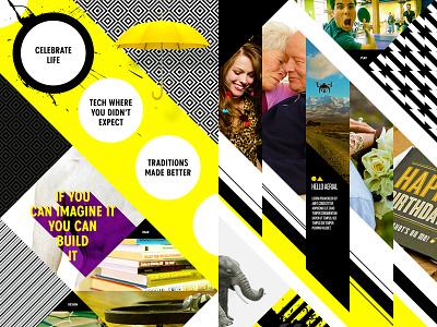 Bold & Sharp sharp hello innovation landing page patterns website scroll geometric bold