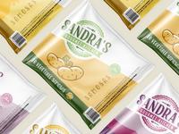Sandra's Gourmet Kitchen Packaging