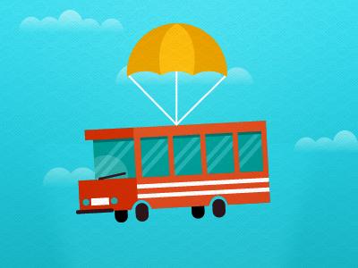 Flying bus