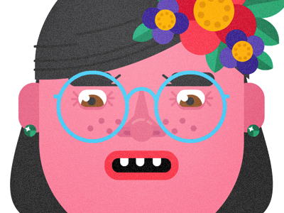 Face dribbble