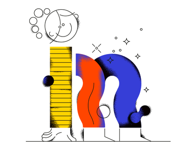 36 Days Of Type - M shirt grain legs girl alphabet typography m lettering 36daysoftype