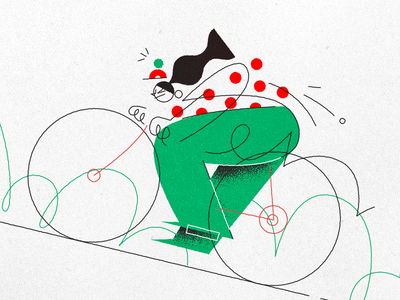 Tour de France uphill ride girl france de tour cycling bike