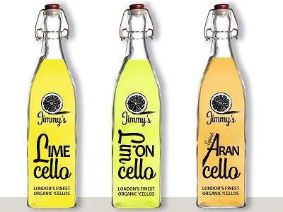 Jimmys lime limon aran bottles marketing graphic design brand and identity branding photoshop logo design logo design brand identity