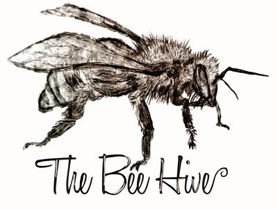 The Bee Hive brand identity brand bee creation sketch art logo design