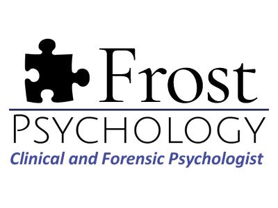 Frost Psychology psychologist psychology website brand identity website design design logo logo design