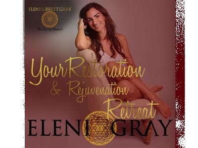 Eleni Gray Retreat logo design creation website website design brand identity