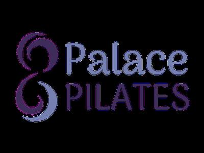 Palace Pilates logo brand and identity graphic design designer crystal palace marketing website brand branding website design photoshop logo logo design brand identity design pilates tree pose