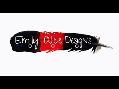 Logo Emily Alice Designs inspiration brand and identity designer graphic design art creation marketing branding brand website design website photoshop design logo logo design brand identity
