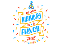 Birthday is a flavor