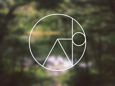 Camp Josie Logo monoline minimal yoga blur logo brand vector