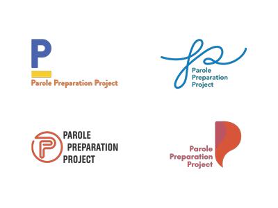 Parole Preparation Project typography logos branding