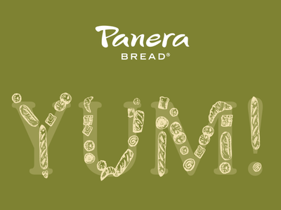 Panera Bread Illustration
