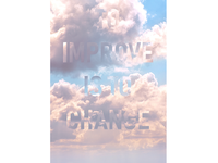 To Improve is to Change - poster