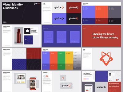 Glofox - Visual Identity b2b interface fitness gym patterns wordmark bbagency product design website design design logo digital print brand guidelines graphic design branding brand visual identity ux ui