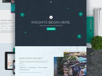 First Mile Geo - Homepage (WIP)