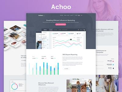 Achoo is Live! balkan brothers development responsive website homepage user experience ui ux web design