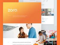 Zora - Behance Case Study