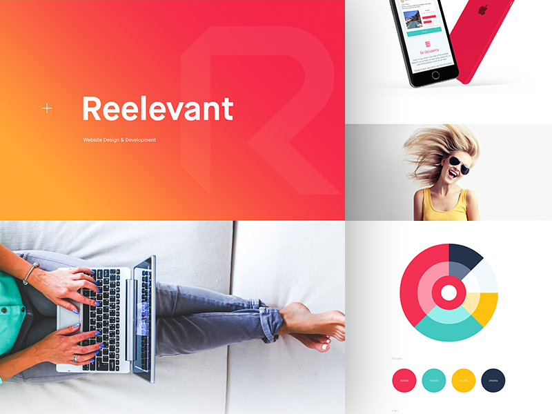 Reelevant - Behance Case Study balkan brothers behance case study ui interface ux experience user page website design web