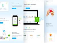 InvoiceSherpa - Homepage Redesign