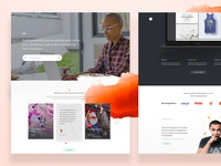 Teachable - Homepage (WIP)